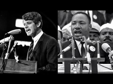 Robert Kennedy Told African-American Audience That Martin Luther King Was Dead