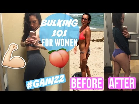 BULKING 101 FOR WOMEN || WHAT IS BULKING, WHERE TO START, AND MORE