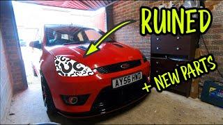 I Ruined My Headlights... & New steering Wheel + Gear knob!