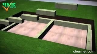 Как построить подвал из бетонных блоков(Инструкция по монтажу подвала из ФБС блоков. Купить блоки в Москве http://www.chermet.com/catalog/section/fundamentnye-bloki., 2014-05-31T19:53:44.000Z)