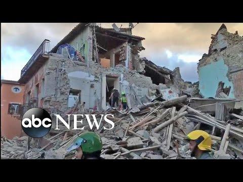 Earthquake in Italy Kills Dozens