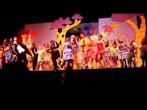 Anna and Seussical Jr  Cast Jive