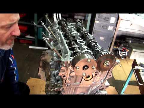 Установка меток ГРМ 1AZ FSE + небольшой обзорчик мотора.