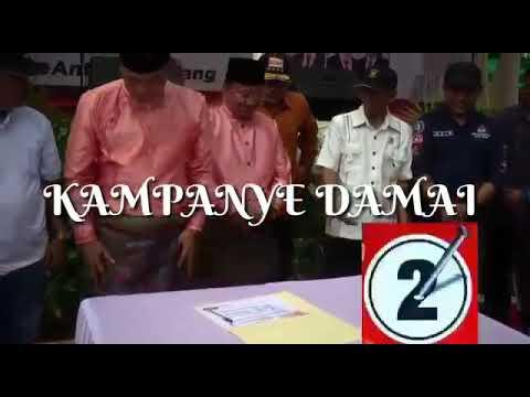 KAMPANYE DAMAI FASHA MAULANA 2018/2023