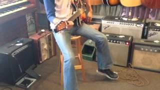 Baldwin Burns guitar and Mountainking Crank Case