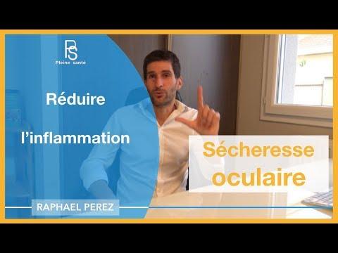 Sécheresse Oculaire (œil Sec) : Réduire L'inflammation