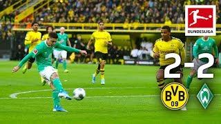 Reus and Götze Goals not Enough for BVB Win I Borussia Dortmund vs. Werder Bremen I All Goals