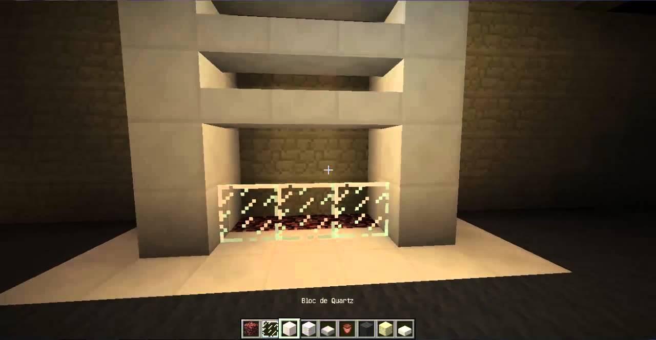 Minecraft idée déco le salon   youtube