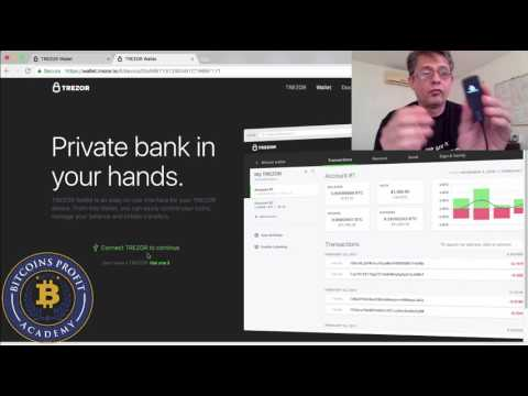 Trezor - Setup & First Bitcoin Wallet Transactions