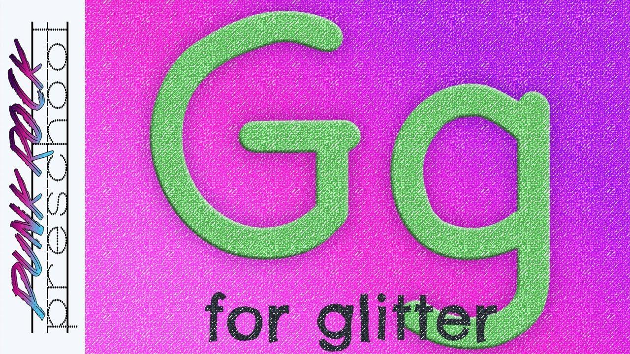 Letter G for Glitter | Fun Preschool Crafts for Kids | Best ...