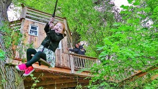 Adley 45ft Treehouse Tour And SW NG