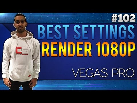 Sony Vegas Pro 13 - How to Render 60FPS Videos (HD 1080p) - SVP 13/12/11 - YouTube 60 FPS.