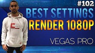 Sony Vegas Pro 13: Best Render Settings 1080p - Tutorial By CasualSavage