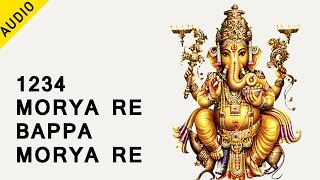 Download Hindi Video Songs - 1234 Morya re Bappa Morya re | Sampoorna Maha Ganpati Aarti | Musica