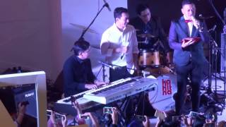 "Yovie Widianto ft.Hedi & Mario Kahitna ~ New Song Challenge ""Jemari Hati"" (Senayan City)"