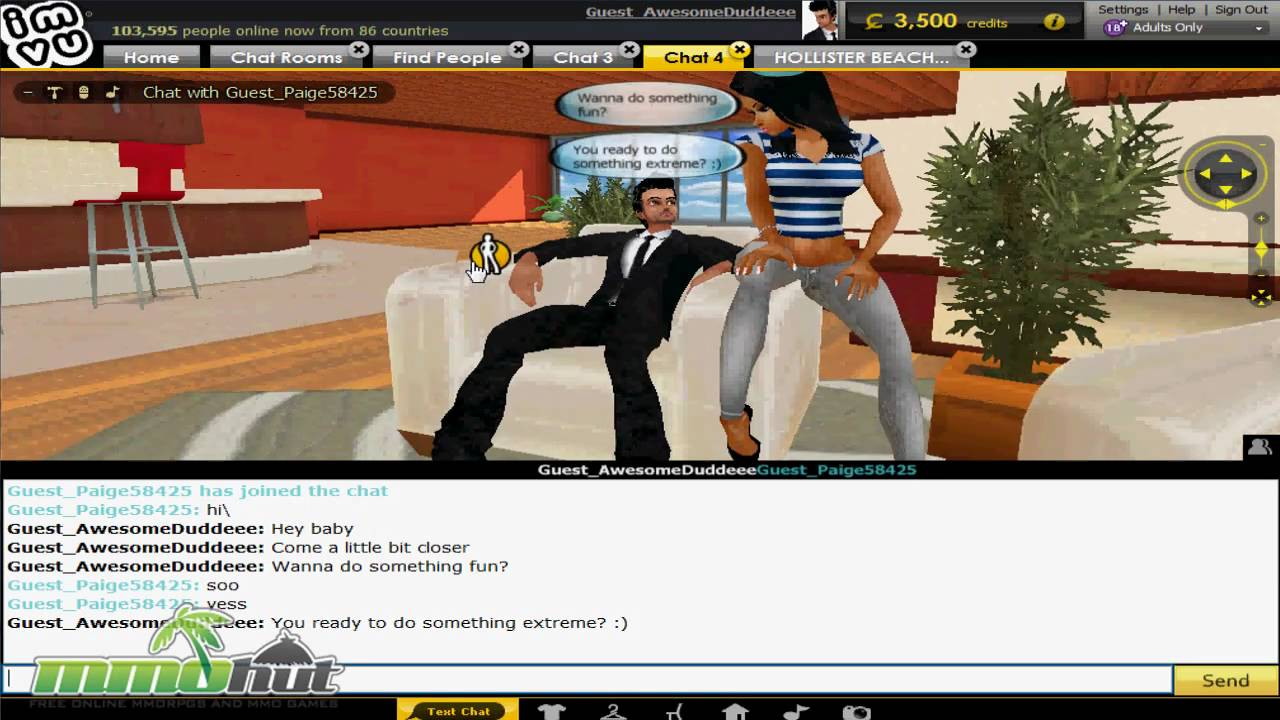 Imvu hook up