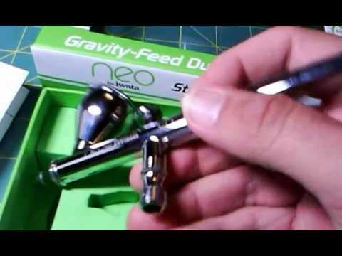 Mini Review of Neo for Iwata Gravity feed dual action airbrush
