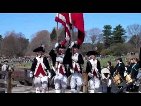 North Bridge Concord, Mass. Patriots Day 2011.