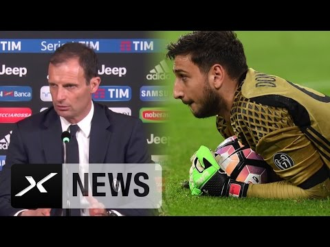 Massimiliano Allegri: Gianluigi Donnarumma?
