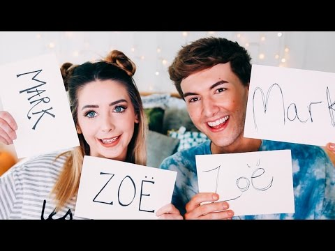 Thumbnail: Most Likely To With Mark | Zoella
