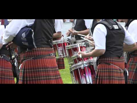 Greater Glasgow Police Pipe Band at 2015 Forres Europeans