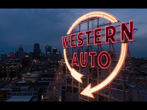 Western Auto sign once again lights up the sky in downtown Kansas City