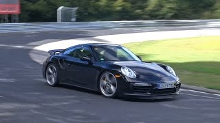 2016 Porsche 991 Turbo S testing on the Nürburgring!