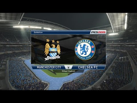 Pro Evolution Soccer 2015 ( PES 2015 ) Gameplay Match: Manchester City Vs Chelsea PC Xbox PS3