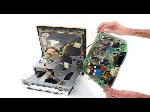 Curso Manutenção em Monitores CRT - Cuidados ao Desmontar o Monitor