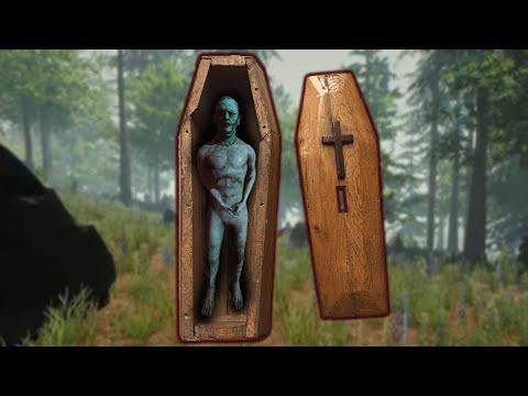 Tìm QUAN TÀI, THẬP TỰ và TÔN GIÁO BÍ ẨN  The Forest VH [8]