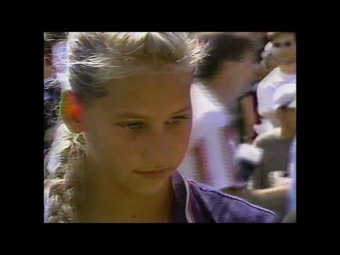 Anna Kournikova vs Steffi Graf  US Open 1996