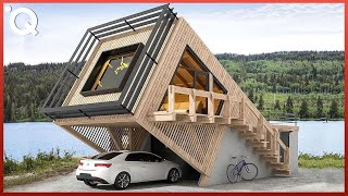 Modern Prefab Homes & Fast Construction Housing Technology