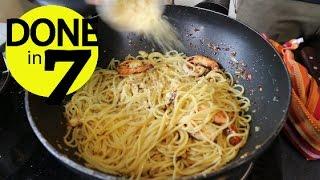 Spaghetti Oglio Olio - Done In 7.