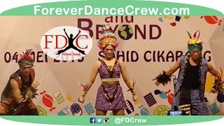 Traditional Papua Modern Dance Indonesia - Forever Dance Crew Indonesia