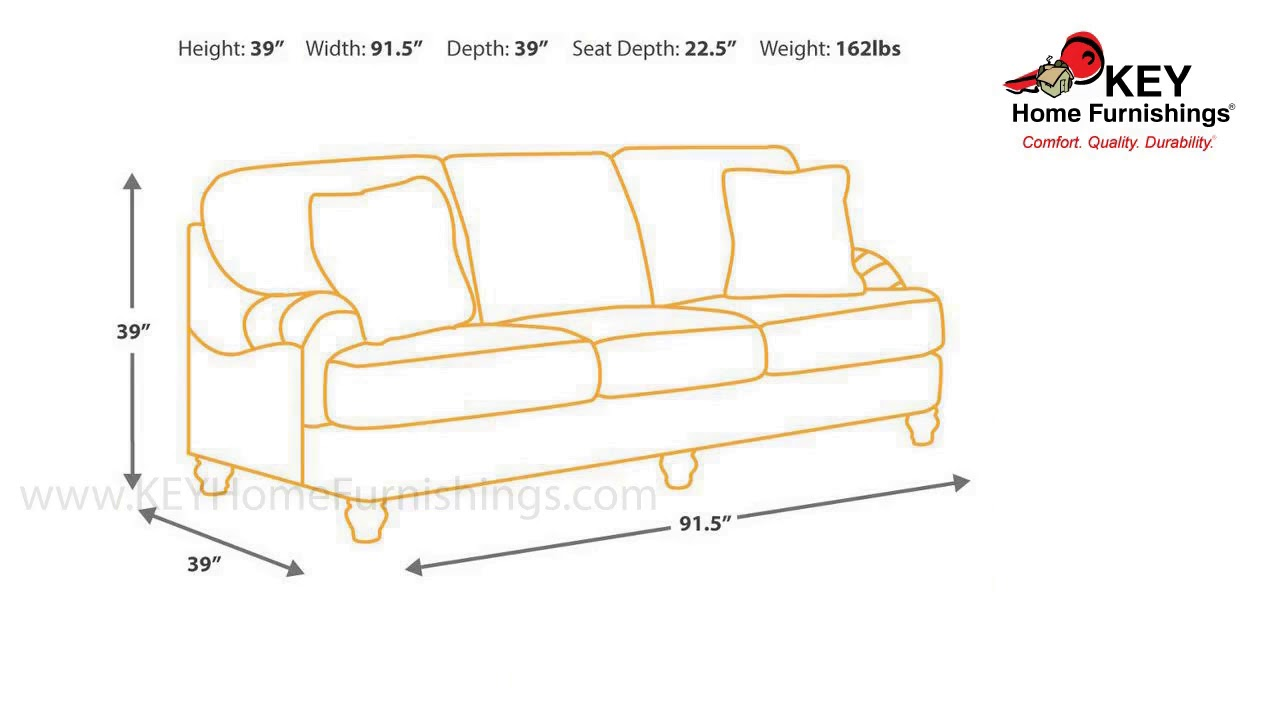 Ashley Hariston Sofa Review How To Recycle Old Sofas 2550038 Key Home Youtube