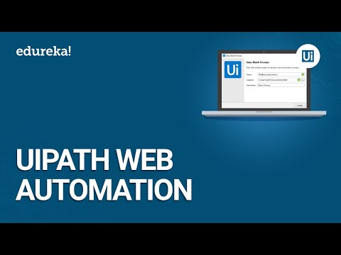 UiPath Web Automation | Automate Web Data Extraction - UiPath Studio | UiPath Training | Edureka