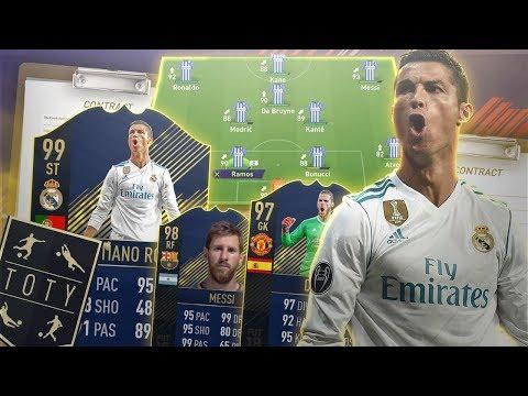 FIFA 18: TOTY im KARRIEREMODUS? Kann das TOTY die Premiere League Gewinnen? Fifa Experiment 🏆Sumas