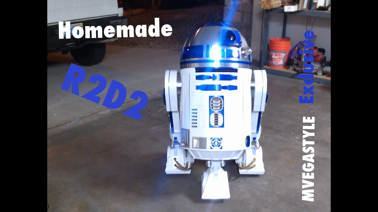 R2d2 Homemade Robot Exclusive Youtube