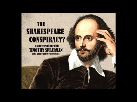 Shakespeare Conspiracy with Timothy Spearman | CB133