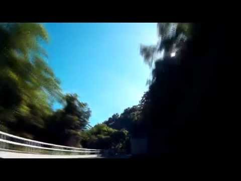 Cuba montain road to Baracoa