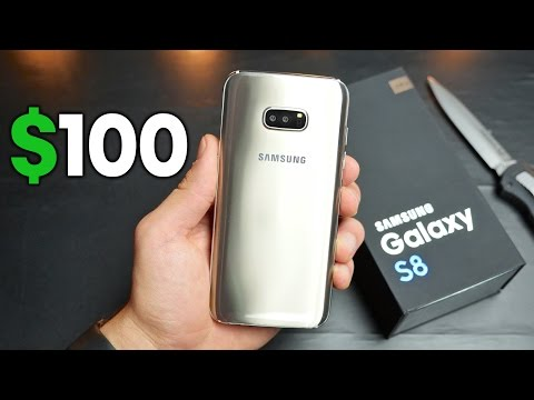 Thumbnail: $100 Samsung Galaxy S8 Clone Unboxing!