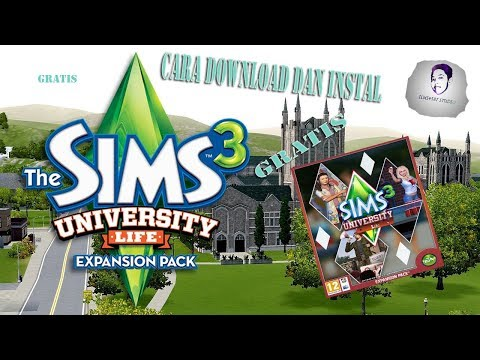 Cara Download Game The Sims 3 :  Update University Life Expansions Pack , Torrent Download