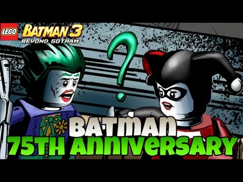 Batman 75th Anniversary [DLC] - LEGO Batman 3: Beyond Gotham