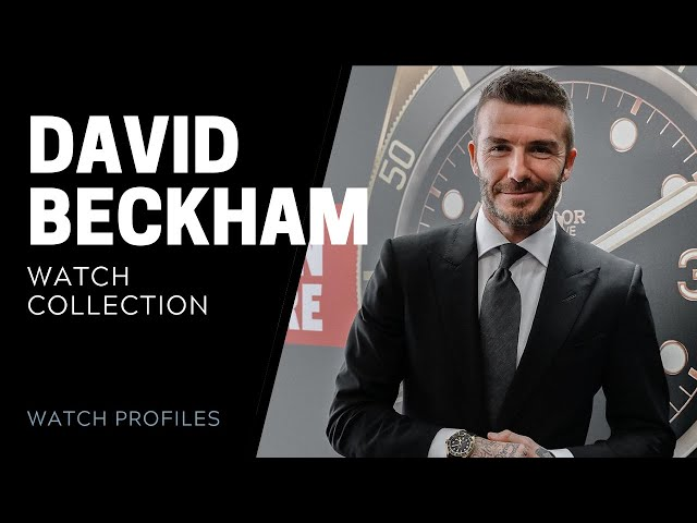 David Beckham's Watch Collection | SwissWatchExpo [Watch Collection]