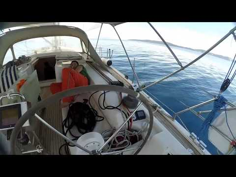 Sailing in Greece Patras With Hanse 470e
