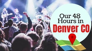 Exploring Denver CO in 48 Hours Illenium preforms at Red Rocks Amphitheater