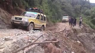 Mount Saramati Trekking Expedition: Challenging road journey.
