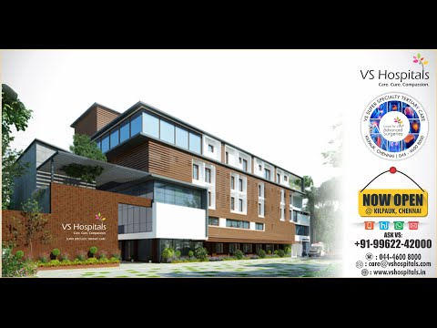 Launch Event - VS Hospitals - Center for Advanced Surgeries - Kilpauk, 14-Jul-2016, 10AM