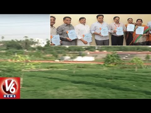 HMDA Released Notification For Plots e-Auction In Various Layouts In Hyderabad | V6 News