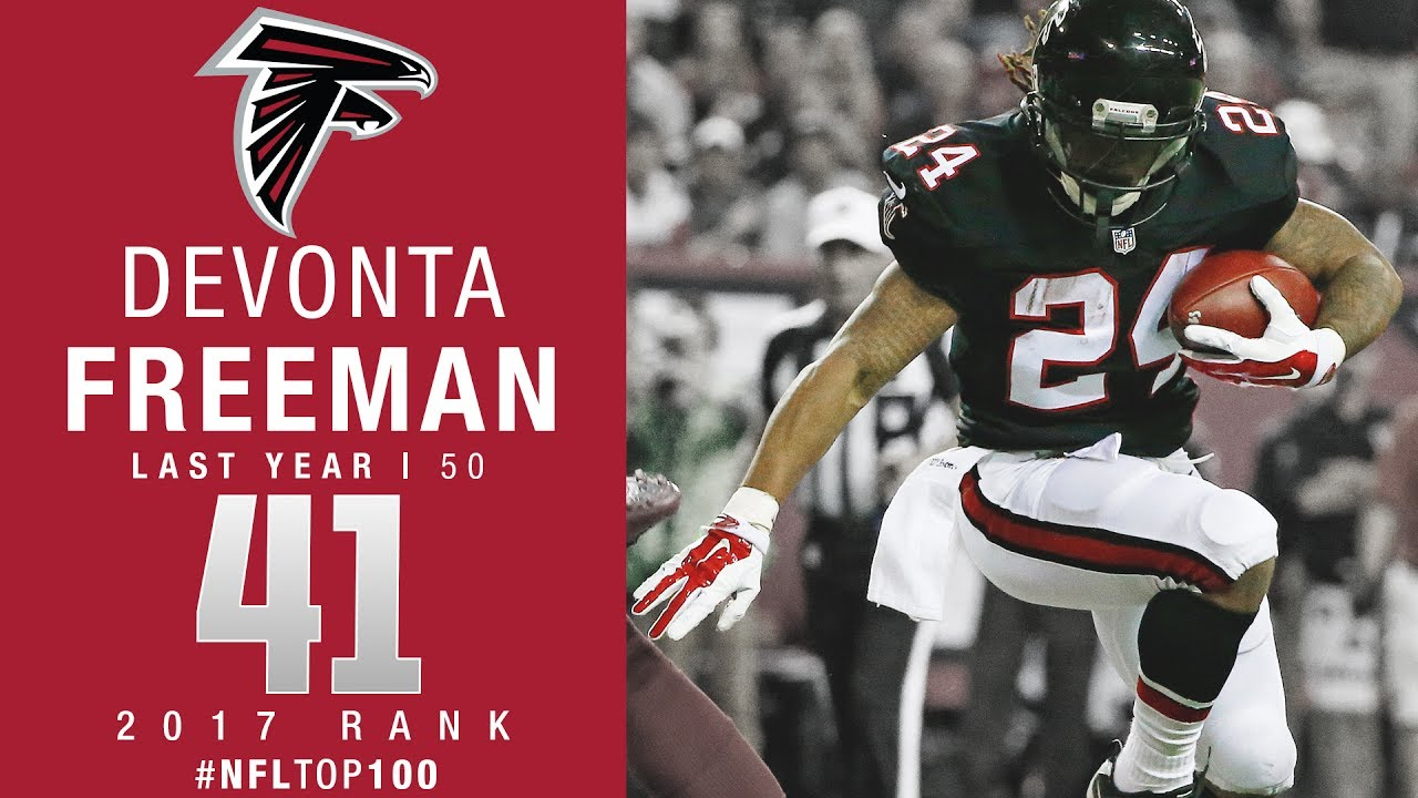 41 Devonta Freeman RB Falcons Top 100 Players of 2017